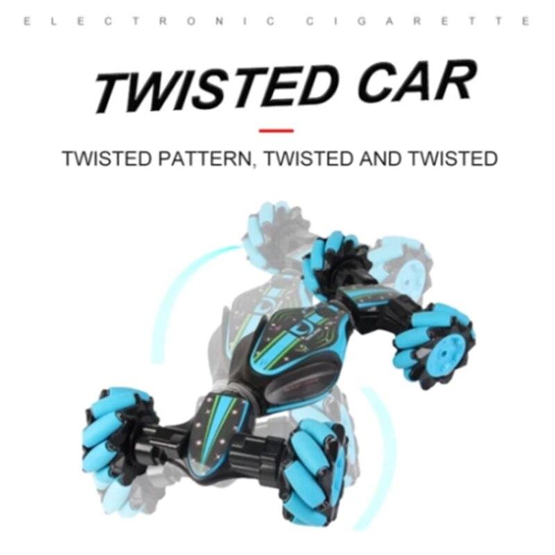 Weihnachten Stunt RC Auto Gesture Sensing Verdrehen Fahrzeug Drift Auto Fahren Spielzeug Geschenke SNO88 - 6