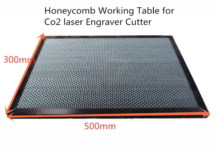 300x500mm 350x450mm Laser Enquipment Parts Honeycomb Working Table For CO2 Laser Engraver Cutting Machine Laser Stamp Engraver