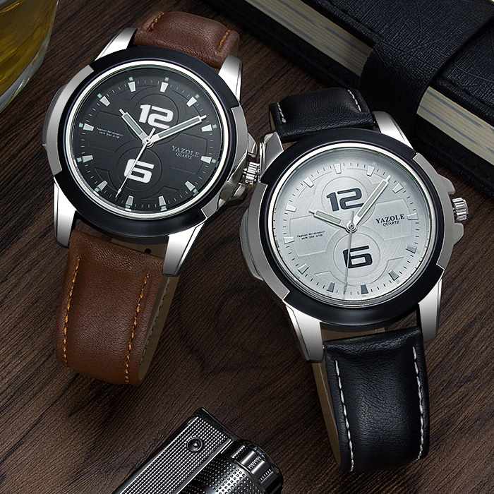 YAZOLE Men Watch Top Luxury Brand Sport Watches Mens Quartz Wristwatch Male Clock Relogio Masculino YZL418