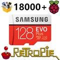 SD-карта RetroPie, 128 ГБ, для Raspberry Pi 3 B + 18000 + игр 30 +, игровая станция с функцией симуляции, предварительно загруженная Plug & Play