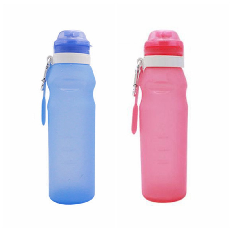 1 x Drinking Bottle Jogging Fitness Sport Bottle Bike Bottle Camping Pink