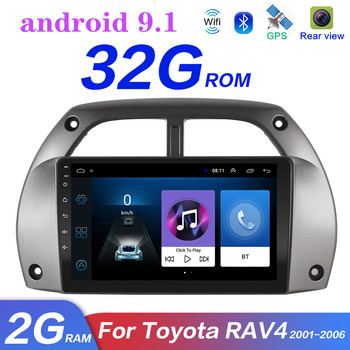 2din android 9. 1 For Toyota RAV4 Android 2001 2002 2003-2006 Car Radio Multimedia Player WIFI FM navigation gps radio player image
