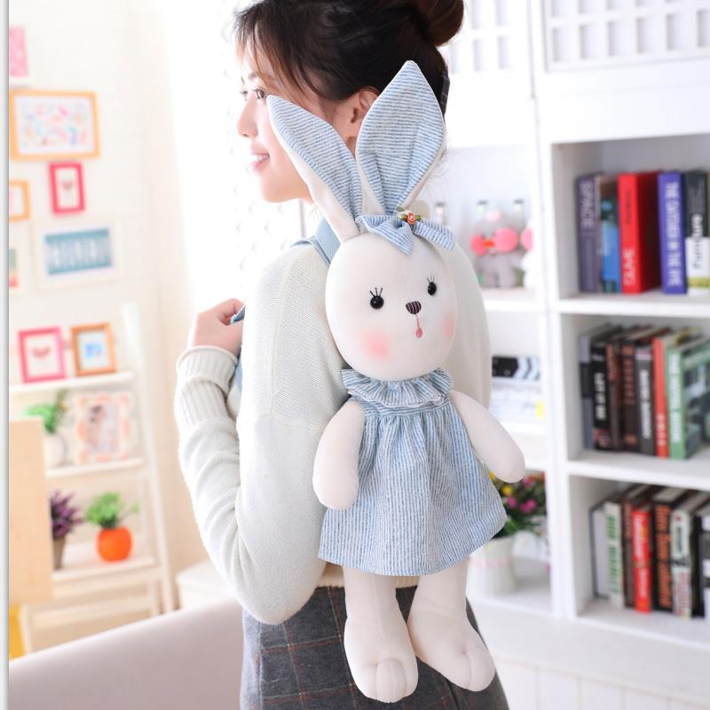 Кролик Рюкзак Чучело Рюкзак для девочки подарок на день рождения новая кукла