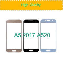 TouchScreen For Samsung Galaxy A5 2017 A520 A520M SM-A520F A520F Touch Screen Front Panel Glass Lens Front Outer LCD Glass