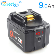 Waitley 18V 9.0Ah Battery for Makita Power Tool BL1830 BL1840 BL1850 BL1860 1890 18 v 18Volt 9000mAh Lithium-Ion Replacement 9A