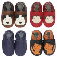 Non-Slip Shoes Soft-Sole Girls Footwear First Walkers Booties Toddler Newborn Boys Cartoon