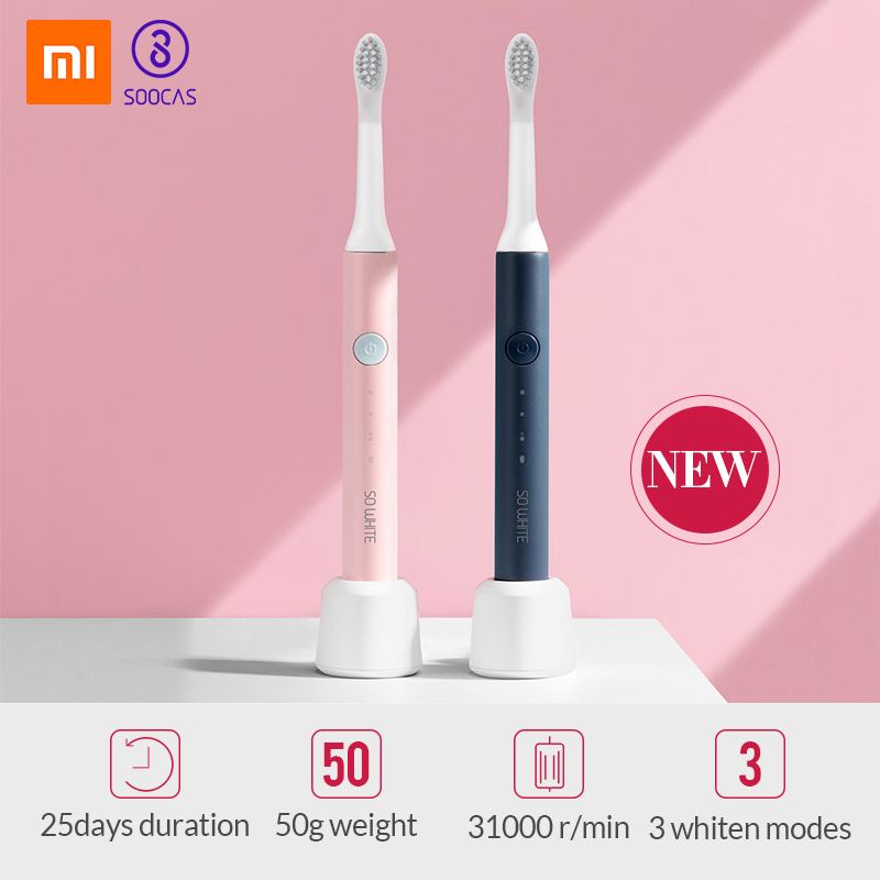 Electric Toothbrush Sonic Wave Rechargeable Top Quality Smart Chip Toothbrush Head Replaceable Whitening Healthy Best Gift 5 image
