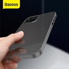 Baseus-funda de teléfono Simple para iPhone 12 Pro Max, carcasa trasera ultrafina de PP mate para iPhone 12 11 XR XS Max