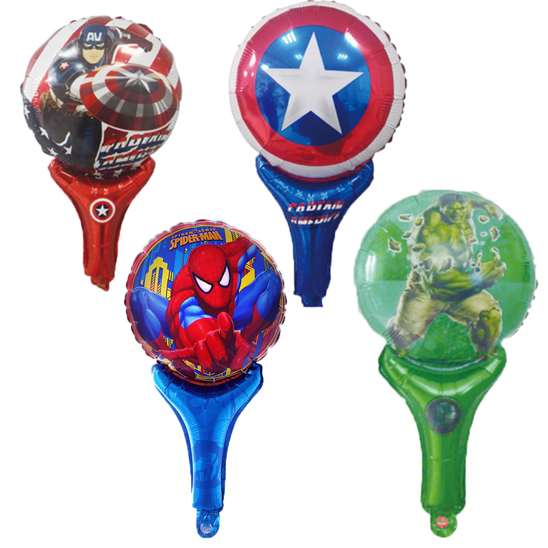 INCREDIBLE HULK Foil Balloons AVENGERS MARVEL A Shower Birthday Party Supply lot