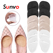 Sunvo 6Pair Silicone Forefoot Insoles for Shoes Inserts High Heels Sandels Women Anti-Slip Foot Cushion Pain Relief Gel Shoe Pad