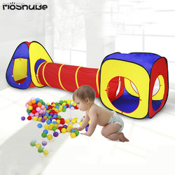 Foldable Ball Pit Kids Play House Indoor Toys for Children Playground Ocean Ball Pool Birthday Gift Game Activity Play Tent