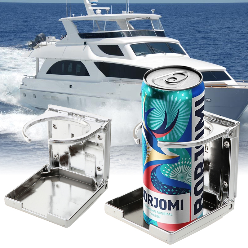 Universal Vehicle Marine Boat Cup Accessories Car Yacht Folding Beverage Drink Bottle Can Coffee Cup Mount Stand Holder