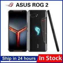 Ordinateur portable d'origine Asus ROG Téléphone II ZS660KL Gaming Téléphone 8G RAM 128G ROM ROG2 Snapdragon 855 + 6.59