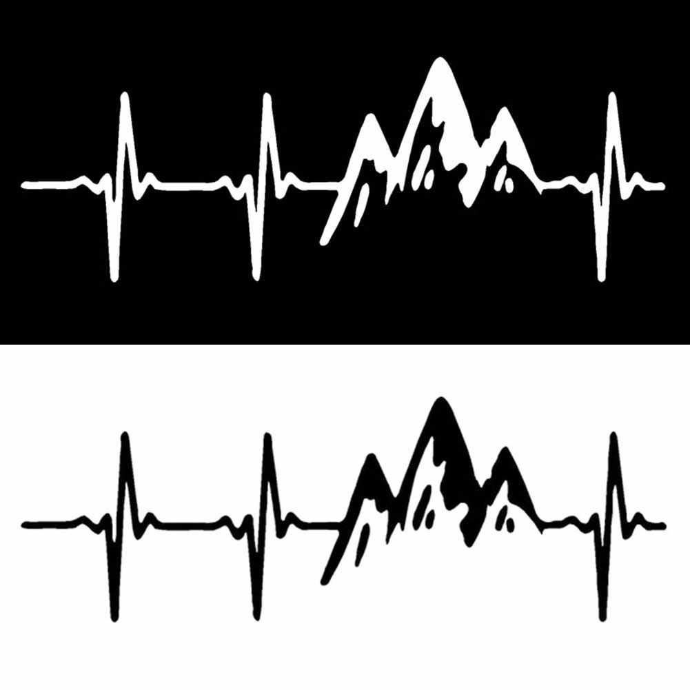 ملصق سيارة-تسلق الجبال حدود سرعة الفكر الخاص بك لطيف حية سيارة ملصق نافذة ملصق حائط من الفينيل سيارة عاكسة Bod