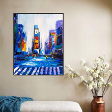 Canvas Art Oil Painting New York Times Square Art Poster Picture Wall Decor Modern Home Decoration For Living room Office between home декоративная подушка new york times beige