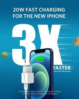 Зарядное устройство Anker Nano для iPhone, 20 Вт