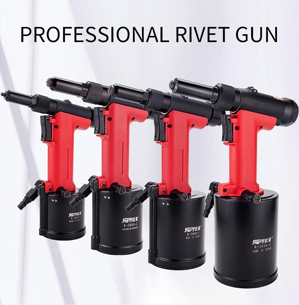 R-5040-2 Series Pneumatic Rivet Gun Rivet Machine Pneumatic Self-priming Industrial Grade