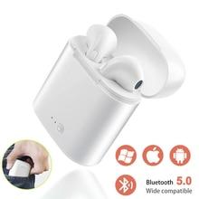 лучшая цена i7s TWS Wireless Bluetooth Earphone Stereo Earbud Headset With Charging Box Mic For iPhone huawei Samsung Xiaomi All Smart Phone