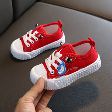 2019 Autumn New Baby Shoes Children Canvas Shoe Girls Student Small White Single