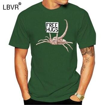 Alien Scorpion Beg darmowe uściski koszulki z nadrukami T Shirt dla człowieka gorąca sprzedaż 2019 koszulka harajuku undertale fitness camiseta justin bieber