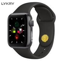 LYKRY Smart Watch IWO 12 PK IWO 8 8 plus 9 10 11 Women Men ECG Heart Rate Monitor Watch 5 Siri Bluetooth Fitness Watch for Apple