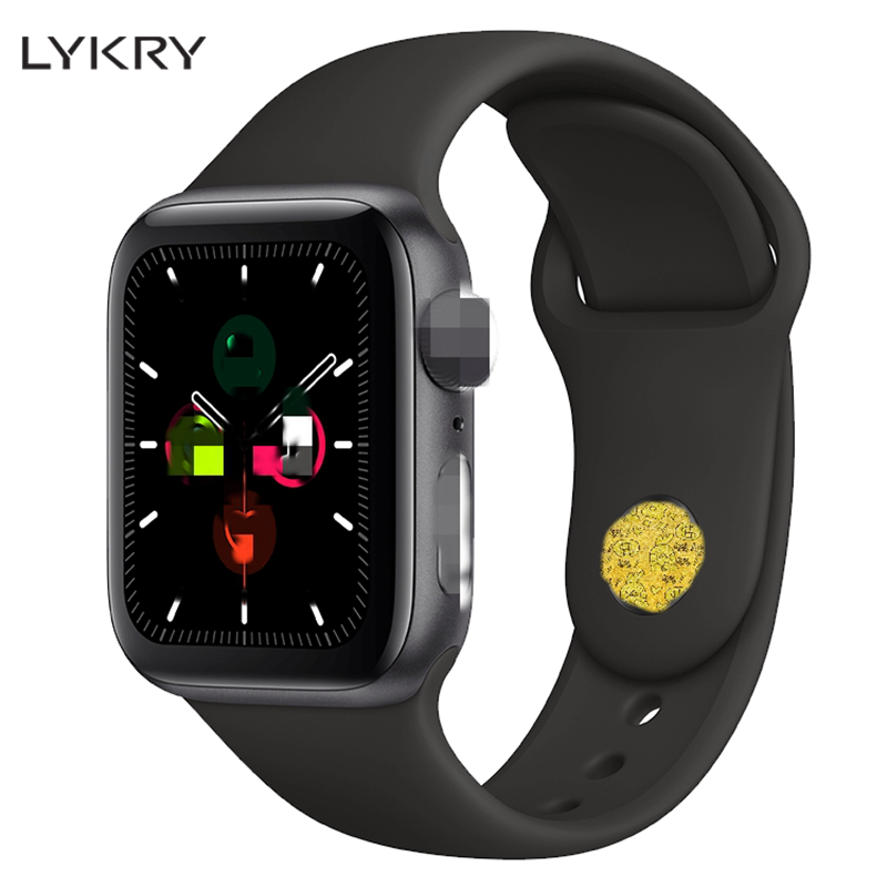 LYKRY <font><b>Smart</b></font> <font><b>Watch</b></font> <font><b>IWO</b></font> 12 PK <font><b>IWO</b></font> 8 8 plus 9 10 11 Women Men ECG Heart Rate Monitor <font><b>Watch</b></font> 5 Siri Bluetooth Fitness <font><b>Watch</b></font> for Apple image