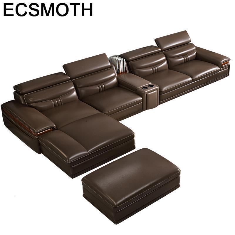 Para Puff Asiento Oturma Grubu Mobili Divano Couch Armut Koltuk Leather De Sala Mueble Mobilya Set Living Room Furniture Sofa