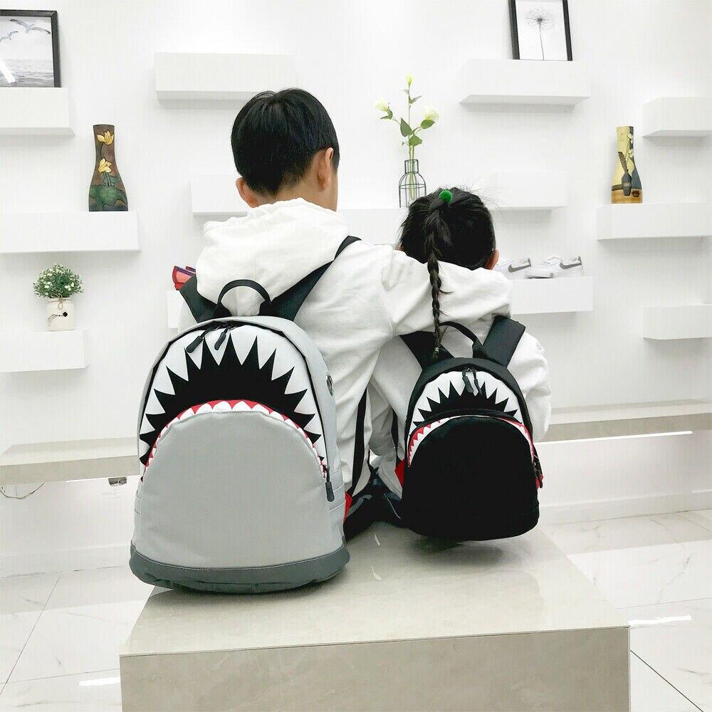 Cool Animal Shark Backpack Kids School Bag For Teenage Boys Girls Small Mini Backpack Bookbags Travel Rucksack Knapsack
