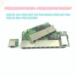 100-Mbps-Up-Link Switch POE POE12V-24V-48V NVR Poe-Powered Poort 24V/48V