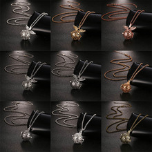 2019 Delicate Aromatherapy Diffuser Necklace Mexico Chime Music Ball Vintage Angel Wings Pendant Romantic Woman Fashion Jewelry