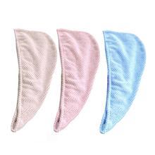 Банное полотенце из микрофибры, обертывание для волос, быстрый сушильный душ, шапка, Парикмахерская головная обертка, вьющиеся длинные волосы, сушильная шапочка для детей и взрослых