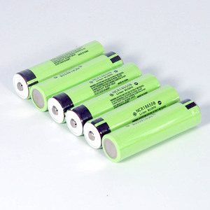 Image 5 - VariCore Original 18650 3.7 v 3400 mah Lithium Rechargeable Battery NCR18650B with Pointed(No PCB) For flashlight batteries