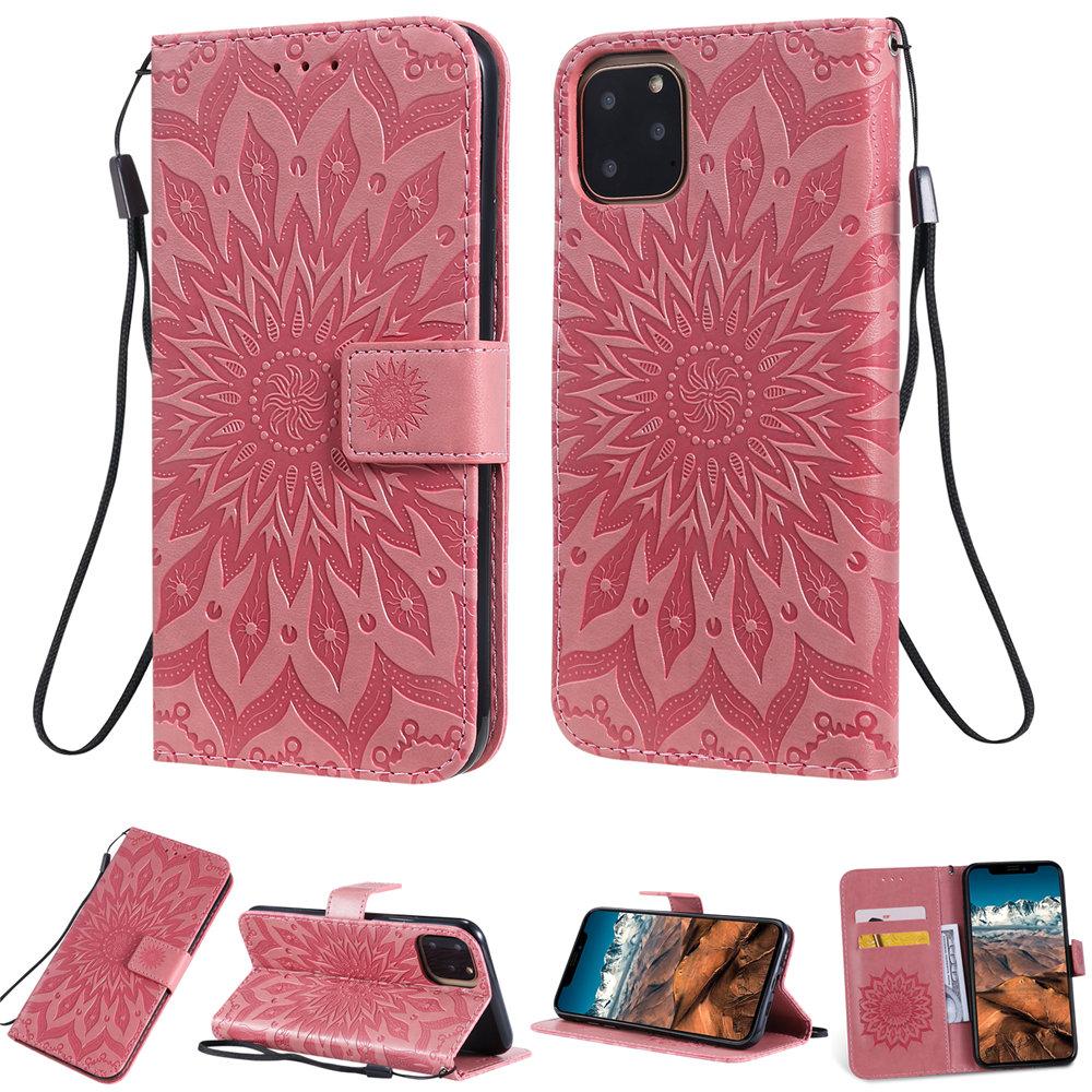 Luxury Flower Wallet Flip Case for iPhone 11/11 Pro/11 Pro Max 29