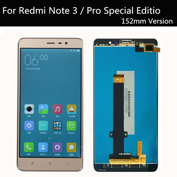 152mm LCD For Xiaomi Redmi Note 3 Pro SE LCD Display Touch Screen for Redmi Note3 Prime Special Edition Global Version tempered glass for xiaomi redmi note 3 pro se official global 152 special edition international version screen protective cover