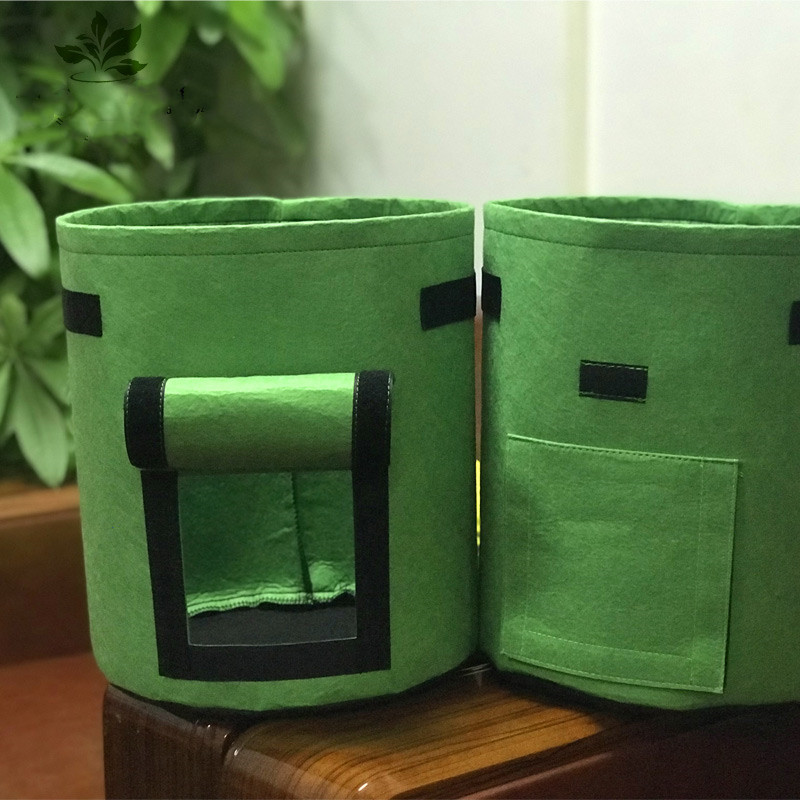 Hot Sale home Indoor garden Breathable Potato Tomato Vegetable moestuin Plant Growth Bag jardin Vertical Garden Grow Bag pot Home & Garden