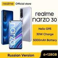 realme narzo 30 Russian Version Smartphone Helio G95 90Hz 6.5 1