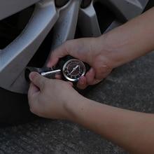 Onever Medidor de presión de neumáticos de alta precisión, herramienta de diagnóstico para coche, aire, coche de presión bici camión motocicleta, 100 PSI