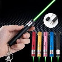 Мощный перезаряжаемый от USB Зеленый Красный лазерный прицел уличный лазер со встроенной батареей лазерная указка PPT военный лазерный демон...