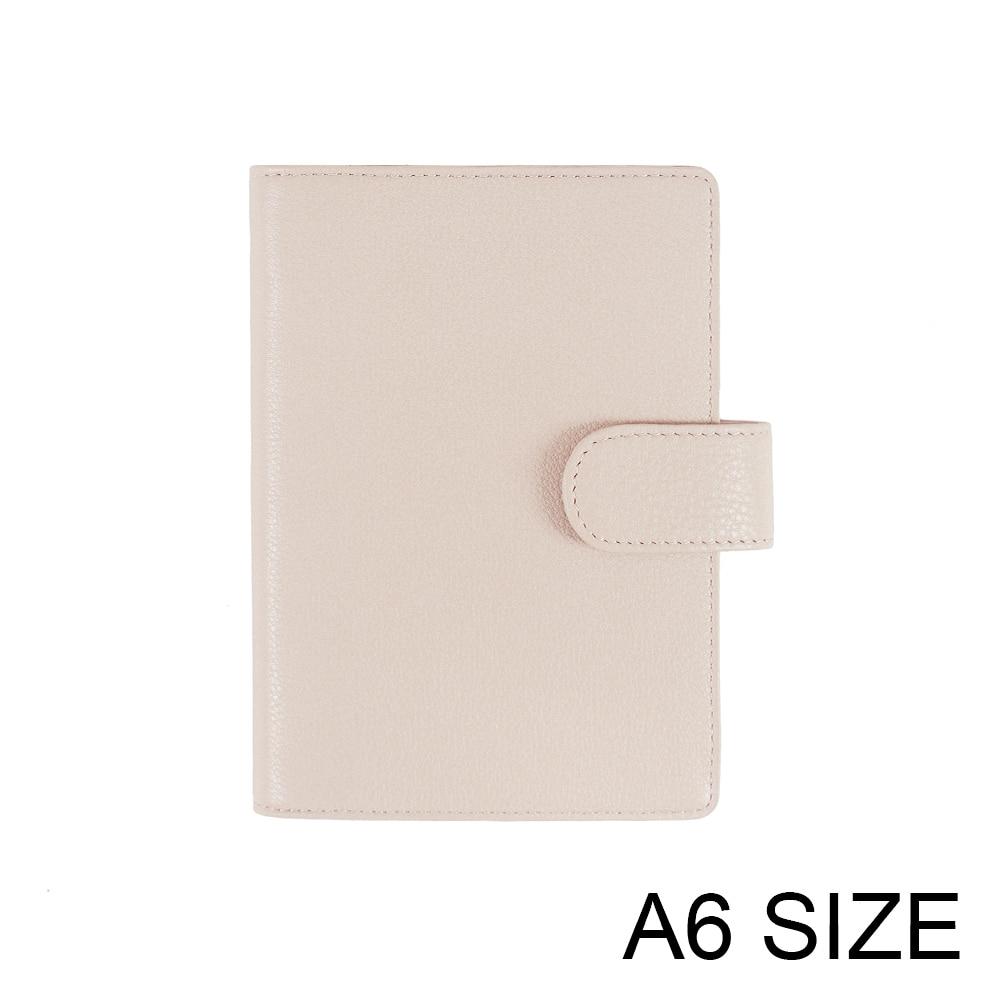 Тетрадь Moterm старой версии A6, дневник, планировщик, натуральная зернистая кожа, журнал, канцелярские принадлежности, маленький блокнот, Орга...
