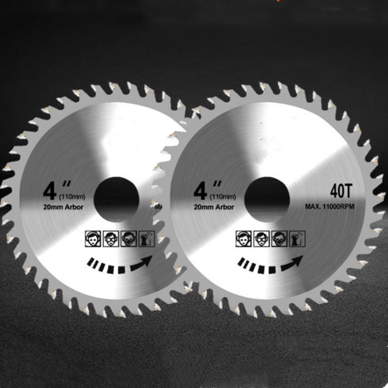 1pc 105mm 40 Teeth Circular Saw Blade Wood Cutting Disc Woodworking For Angle Grinder Saw Disc Saw Blade For Wood Carving Disc