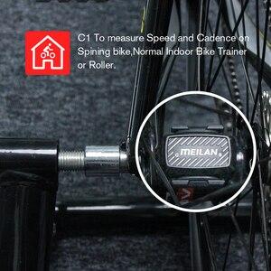 Image 3 - Bike  Cadence speedometer Bluetooth cycling sensor 4.0 ANT+ Internal rotation track Meilan C1  For GARMIN BRYTON igpsport  XOSS