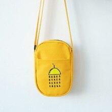Canvas women mini handbag ladies small crossbody shoulder money bag female phone pouch bolso mujer bolsa feminina for girls
