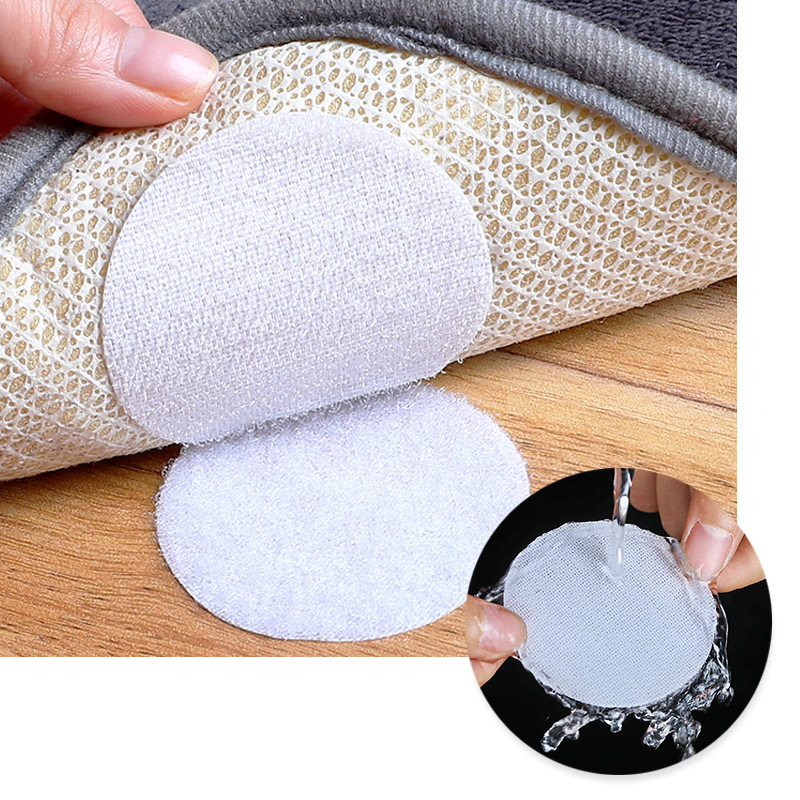 reusable Ties hook and loop self adhesive fastener round dots Stickers Velcros Tape Velcros Cable Ties Velcros Strap