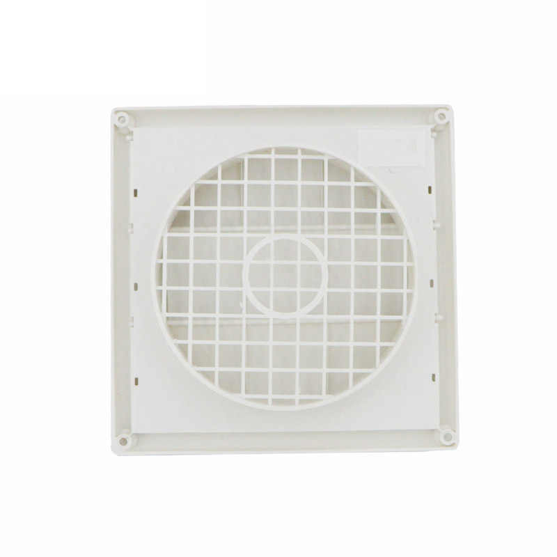 Outdoor Dryer Air Vent Cover Cap Louvered Cover White Exterior Wall Vent Hood Outlet Airflow Vents Pi669 Aliexpress