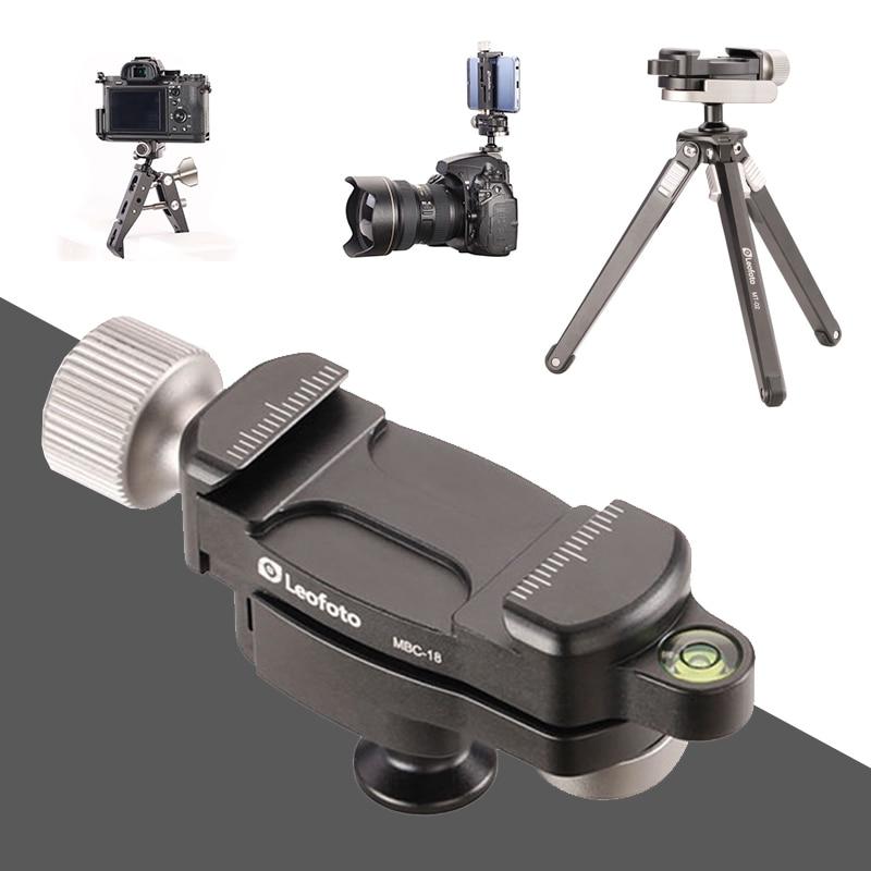 New Tripod Camera Mini Ballhead MBC-18 MF Clamps 18mm Ballhead (5kg load) Photography Parts Camera Accessories