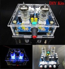 6J1 tube préampli carte amplificateur préampli casque 6J1 valve préampli bile tampon kits bricolage + coque