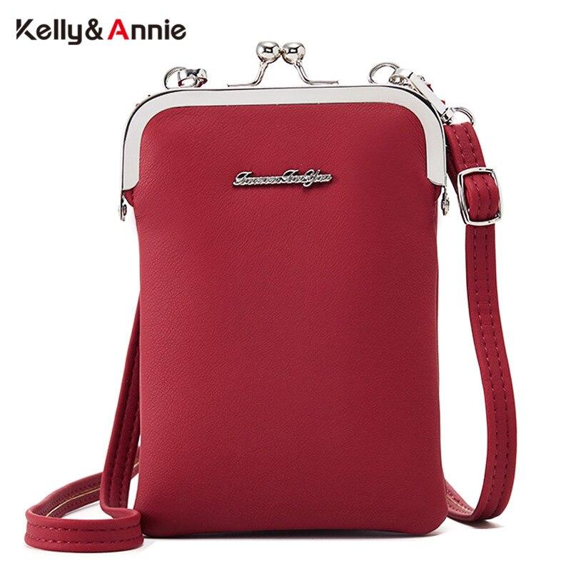 Мини женская сумка, мягкая кожа, карман для мобильного телефона, женские маленькие сумки на плечо, женская сумка мессенджер через плечо, Bga Sac, кошелек, женская сумка|Сумки с ручками|   | АлиЭкспресс