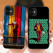 Horror Gelukkig Gezicht Case Voor iPhone 11 Pro Max Joker 2019 Movie Joaquin Phoenix Soft Cover Voor iPhone X XR XS Max Xs 6S 6 7 8 Plus(China)
