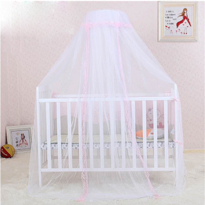 Baby Room Bed Hung Mosquito Net Safe Breathable Toddler Infant Children Baby Bed Hung Mesh Cloth Dome Mosquito Net
