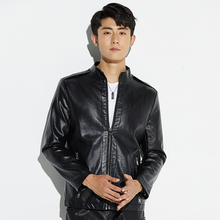 New Fashion Autumn Winter Faux Leather Jacket Men Plus Size 5XL High Quality PU Male Motorcycle Coats